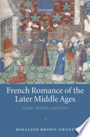 French Romance Of The Later Middle Ages
