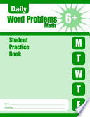Daily Word Problems Grade 6 Student Book