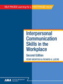 Interpersonal Communication Skills in the Workplace