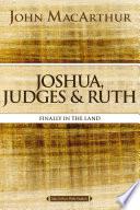 Joshua Judges And Ruth