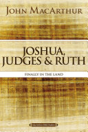 Pdf Joshua, Judges, and Ruth Telecharger