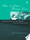 Men Of Letters Writing Lives