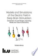 Models and Simulations of the Electric Field in Deep Brain Stimulation Book