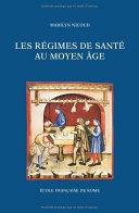 Pdf Les régimes de santé au Moyen Âge Telecharger