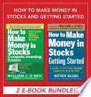 How to Make Money in Stocks and Getting Started Book