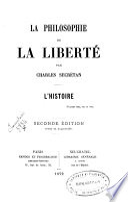 La philosophie de la liberté : l'histoire