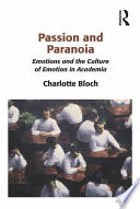 Passion and Paranoia Book