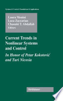 Current Trends in Nonlinear Systems and Control