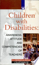 Children With Disabilities  Awareness  Attitude And Competencies Of Teachers Book