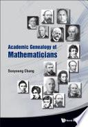 Academic Genealogy of Mathematicians