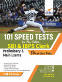 101 Speed Tests for New Pattern SBI & IBPS Clerk Preliminary & Main Exams with 5 Practice Sets 3rd Edition Pdf/ePub eBook