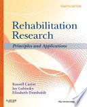 Rehabilitation Research E Book