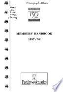 Members' Handbook