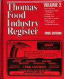 Thomas Food Industry Register Book