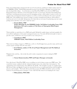 [pdf - epub] Head First PMP - Read eBooks Online