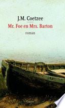 Mr Foe En Mrs Barton