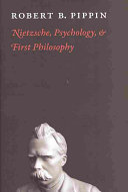 Nietzsche, Psychology, and First Philosophy