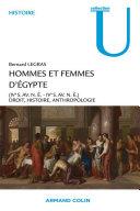 Pdf Hommes et femmes d'Égypte (IVo s. av. n.è.-IVo s. de n.è.) Telecharger