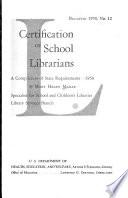 Certification Of School Librarians