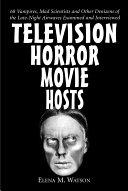 Pdf Television Horror Movie Hosts
