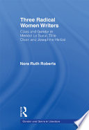 Three Radical Women Writers