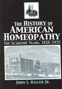 The History of American Homeopathy