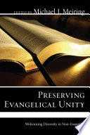 Preserving Evangelical Unity Book PDF