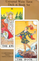 Universal Waite Tarot Deck-Book Set
