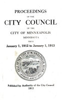 Proceedings of the City Council of the City of Minneapolis Book