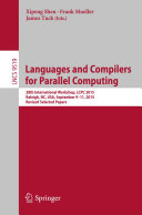 Pdf Languages and Compilers for Parallel Computing