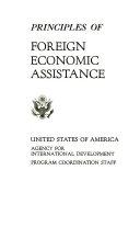 Principles of Foreign Economic Assistance