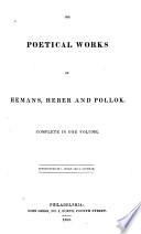 The Poetical Works Of Hemans Heber And Pollok