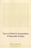Terms of Work for Composition