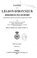 Fastes de la Légion-d'honneur