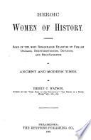 Heroic Women of History