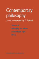 Pdf Philosophie et science au Moyen Age / Philosophy and Science in the Middle Ages Telecharger