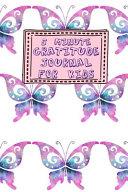 5 Minute Gratitude Journal for Kids Book PDF