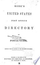 The United States Post Office Directory and Postal Guide ...