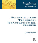 Scientific and Technical Translation Explained