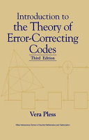 Introduction to the Theory of Error Correcting Codes