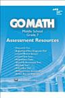 Go Math  Assessment Resource With Answers Grade 7