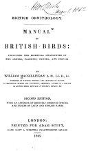 British Ornithology  Manual of British Birds