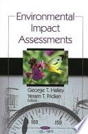 Environmental Impact Assessments