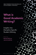What is Good Academic Writing