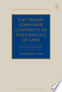 Electronic Consumer Contracts in the Conflict of Laws