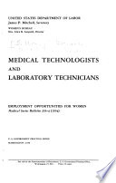 Medical Technologists And Laboratory Technicians