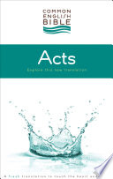Ceb Common English Bible Acts Of The Apostles Ebook Epub