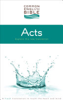 Pdf CEB Common English Bible Acts of the Apostles - eBook [ePub]