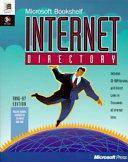 Microsoft Bookshelf Internet Directory Book
