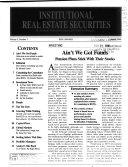 Institutional Real Estate Securities